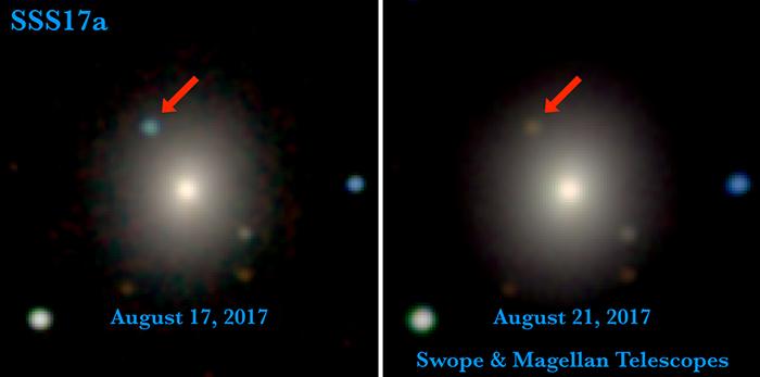 Credit: University of California Santa Cruz and Carnegie Observatories, Ryan Foley