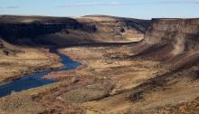 Snake River Canyon, Below Swan Falls Dam