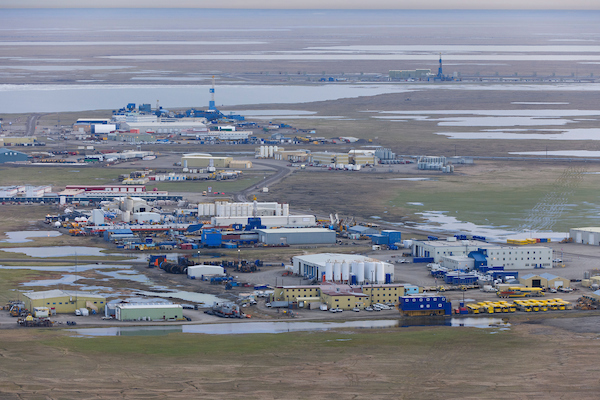 Prudhoe Bay, photo credit Florian Schulz