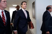 Michael D. Cohen, longtime personal lawyer for President Trump, and Admitted Pimp. Credit Pablo Martinez Monsivais/Associated Press