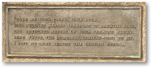 The New Colossus Plaque, Statue of Liberty, New York