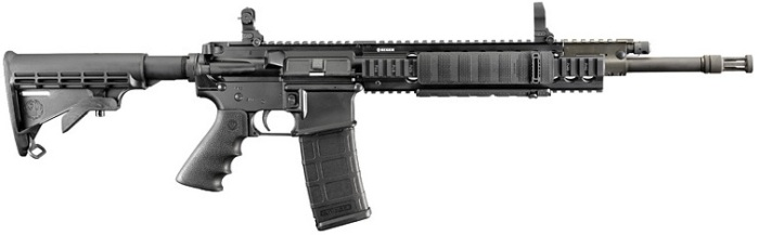 Ruger SR556, a semi-automatic AR-15 style rifle