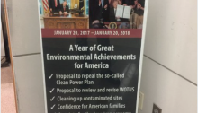 Duke Pruitt's EPA Posters boasting of making the environment worse