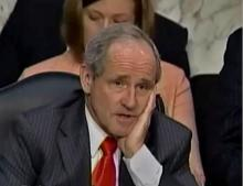 Senator Jim Risch (R, Idaho), Another Petulant Child (via C-Span)