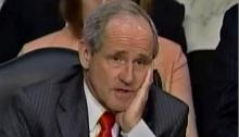 Senator Jim Risch (R, Idaho), Another Petulant Child (via C-Span)