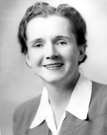 Rachel Carson official USF&W photo, c. 1940
