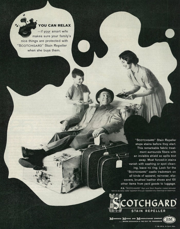 Scotchguard™ advertisement, c. 1961