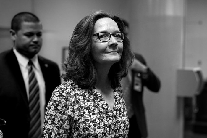 President Trump's nominee for director of the C.I.A., Gina Haspel on Capitol Hill on Monday for meetings with senators.CreditAlex Wong/Getty Images