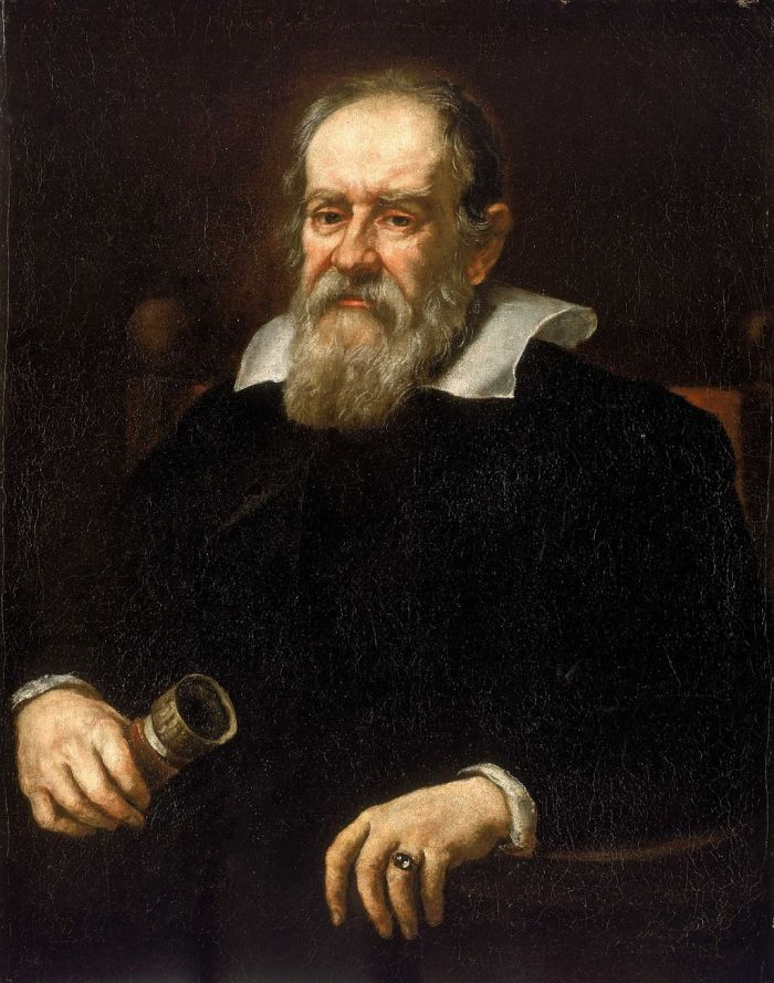 Justus Susterman's  Portrait of Galileo Galilei, 1636
