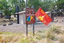 Red Flag Warning, extreme fire danger, Fields Station, Alvord Desert, Oregon