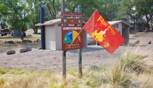 Red Flag Warning, extreme fire danger, Fields Station, Alvord Desert, Oregon