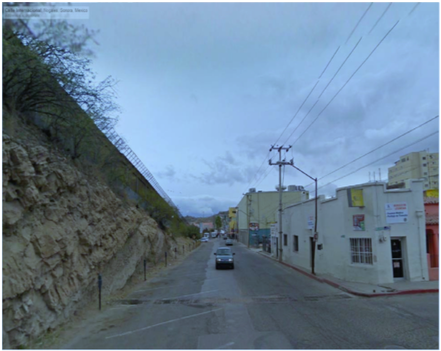 Exhibit A to Plaintiff's First Amended Complaint, Calle Internacional, Nogales, Mexico