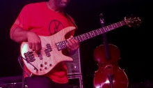 Wooten jamming some funk (Mrs. WC photo)