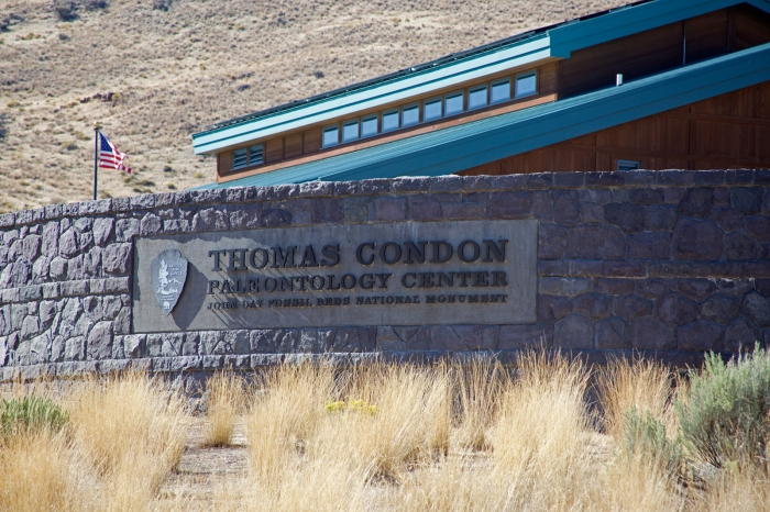 The headquarters and research center at John Day Fossil Beds