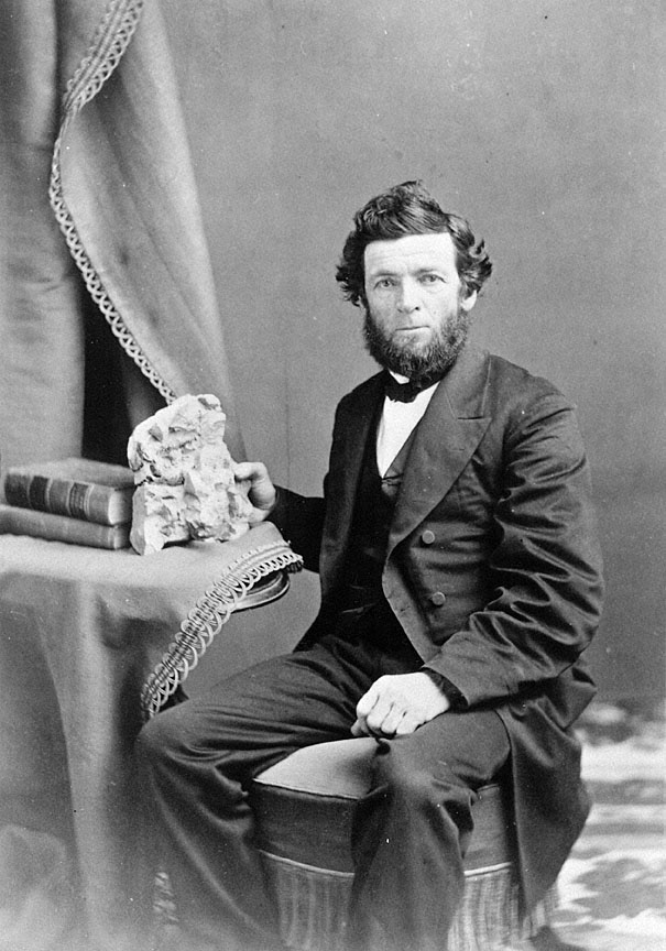 Thomas Condon, undated photo believed to be from the 1870s