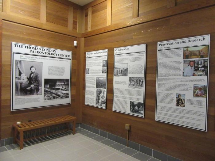 The Thomas Condon exhibit at the Thomas Condon Center