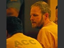 Justin Schneider in court, photographer unknown
