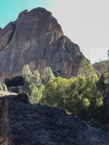 Machete Ridge, one of the Pinnacles in Pinnacles National Park, California