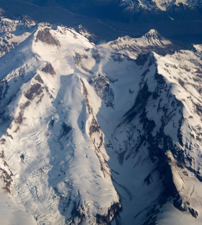 Hayes Volcano, Tordrillo Mountains, Alaska