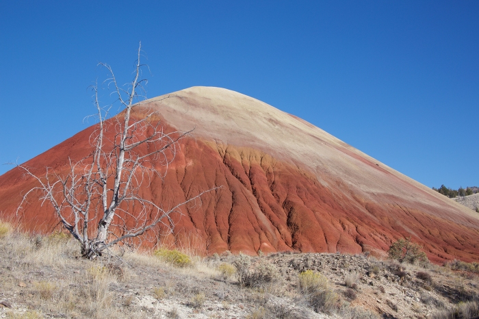 Red Hill from the Loop Trail, Painted Hills Unit, John Day Fossil Beds Nat'l Monument, Oregon