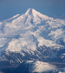 Redoubt Volcano, Chigmit Mountains, Alaska, Ranked No. 4 (Very High Threat)