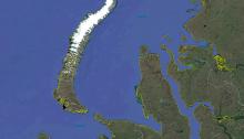 North and South Islands of Novaya Zemlya, Kara Sea, north of Russia