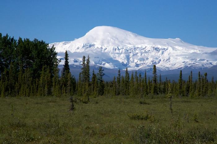 Mt. Wrangell, Wrangell Mountains, Alaska, Ranked No. 101 (Moderate Threat)