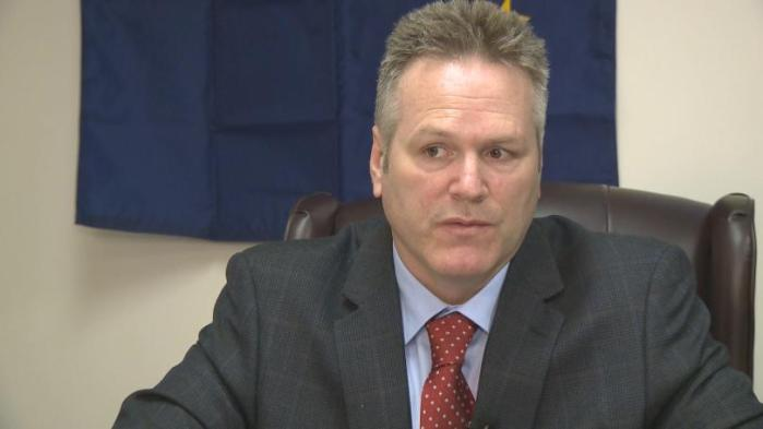 Mike Dunleavy, Alaska's governor, Bog help us