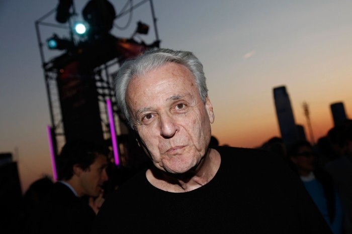 """William Goldman at the Tribeca Film Festival in 2009. He was attending a screening of """"Butch Cassidy and the Sundance Kid,"""" one of two films for which he won the Academy Award.CreditCreditJoe Kohen/WireImage, via Getty Images"""