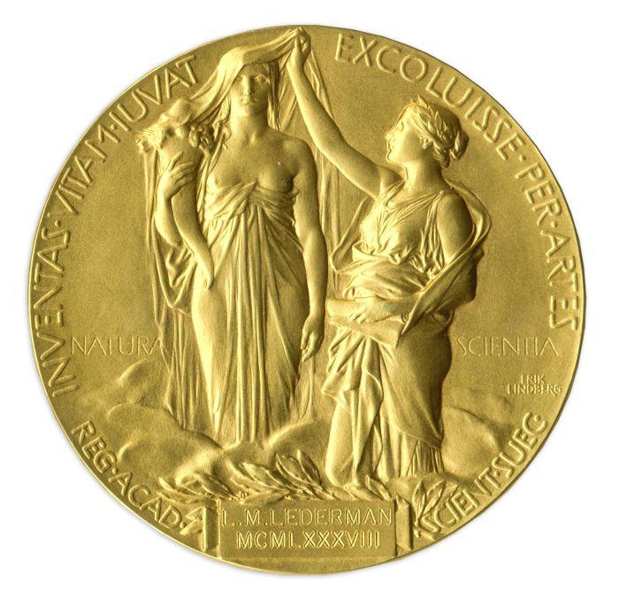 Leon Lederman's Nobel Medal, sold to pay medical bills