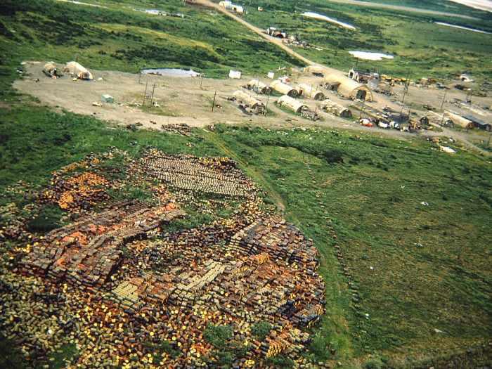 Aerial Photo, Umiat, Alaska c. 1963