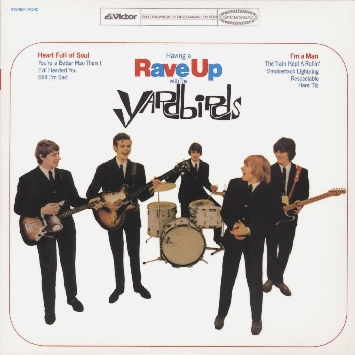 The Yardbirds 1965 Album Cover, Rave Up""