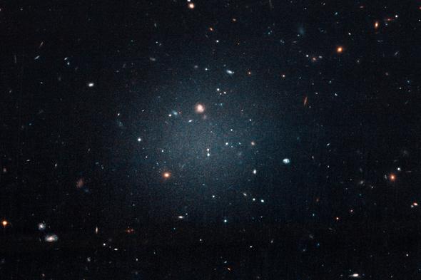 Diffuse Galaxy NGC 1052-DF2 Photo credit: NASA