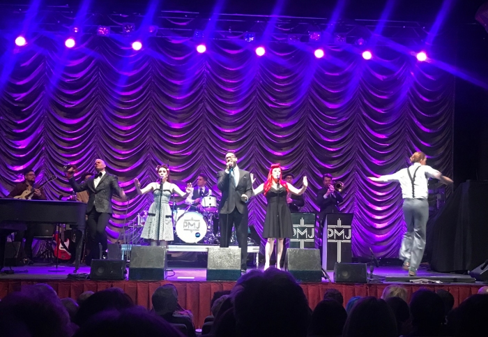 Postmodern Jukebox at the Egyptian Theater, Boise (Photo by Mrs. WC)