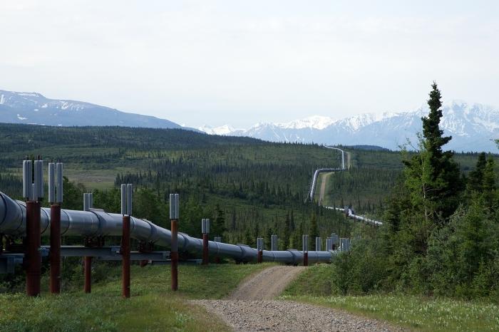 Trans-Alaska Pipeline, Black Rapids, Alaska