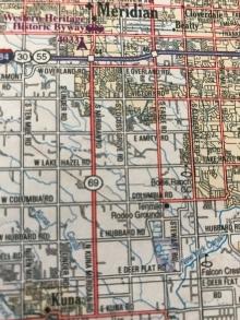 Idaho Highway 69 runs from Meridian to Kuna