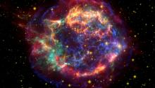 The radioactive corpse of Cassiopeia A