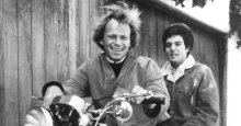 """P F """"Flip"""" Sloan with Barry McGuire, undated photo"""