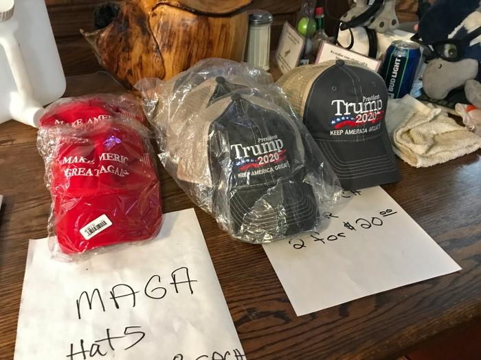 Still more merchandise, Cyndie's Featherville Cafe