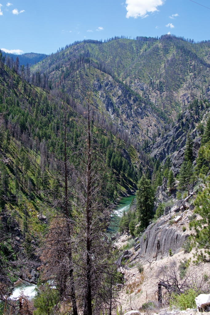Upper Gorge, South Fork of the Payette River, Idaho