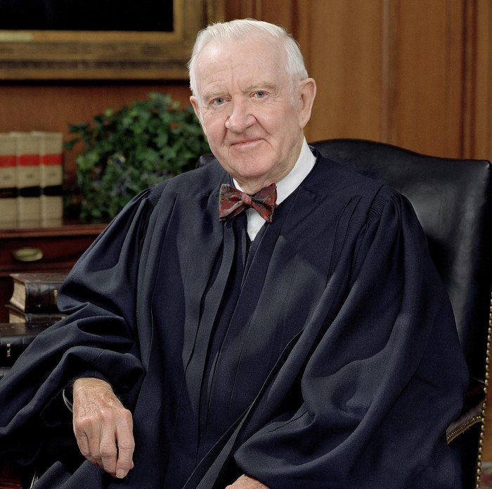 Associate Justice John Paul Stevens, 2005 (U.S. Supreme Court official photo)