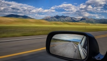 Once in a while you need to glance in the rear view mirror