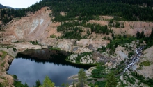 Yellowpine Pit, East Fork of the South Fork of the Salmon River, Idaho