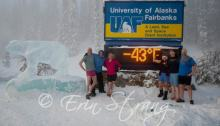 University of Alaska Fairbanks in Happier – If Colder – Times, Photo by Erin Strang's spouse, 2012