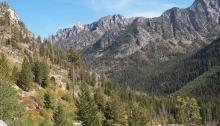 Idaho Batholith at Lick Creek Summit, northeast of McCall, Idaho
