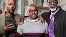 The three defendants, exonerated, now in their 50s (Photo credit: Mid-Atlantic Innocence Project)