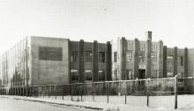 Main Junior High Schhol, c. 1960, via WikiCommons