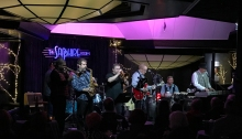 The Blues Addicts, with the Brass Tacks Horns, at the Sapphire Room, Riverside Hotel, Boise