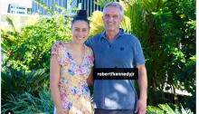 Robert F. Kennedy, Jr. in American Samoa with local anti-vaxxer Taylor Winterstein (via Instagram)