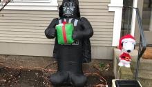 Darth Vader Christmas, North End, Boise